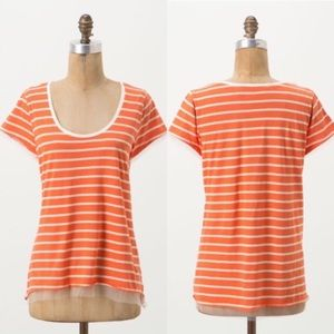 Anthropologie Pilcro Reese Striped Tee